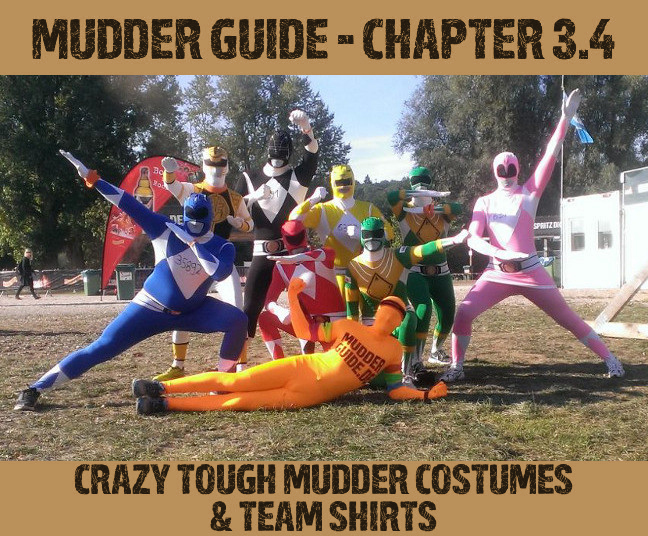 Costumes & Team Shirts for Tough Mudder