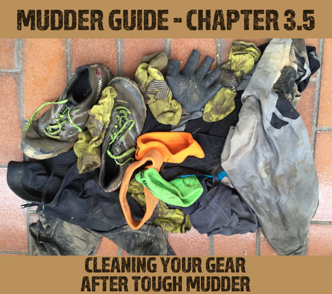 Cleaning your clothes after Tough Mudder