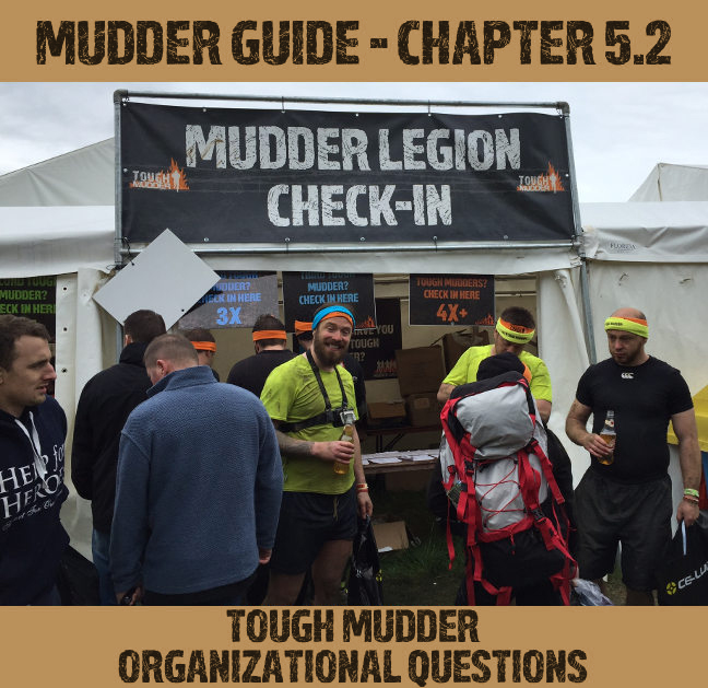 Tough Mudder Organizational Questions