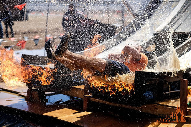 Tough Mudder: Fire in your Hole