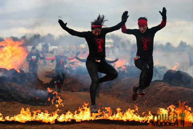 Tough Mudder: Fire Walker