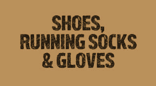 Mudder Stuff Shoes, Running socks & Gloves