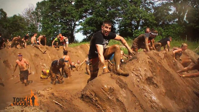 Tough Mudder - definitely worth the entry fee!