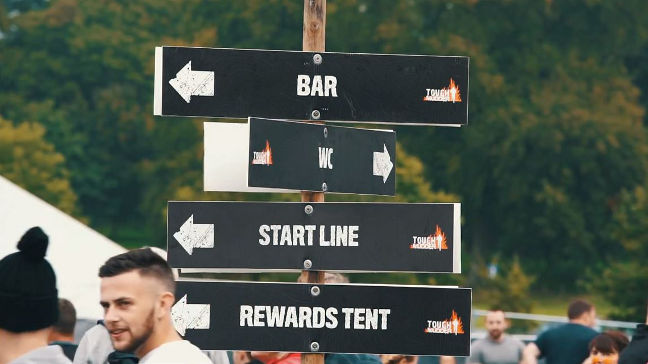 Tough Mudder: The location offers a lot to see and experience