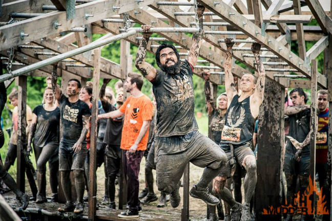 Funky Monkey 2.0 is one of the hardest Tough Mudder obstacles