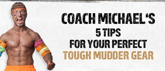 Tough Mudder running gear features