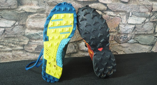 Tough Mudder shoes profile comparison