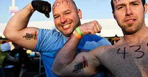 Tough Mudder Tattoo
