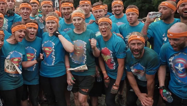 Tough Mudder team shirts