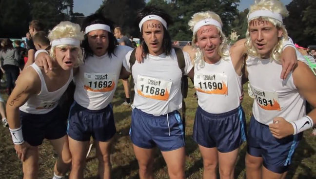 Groups sometimes get a discount on the Tough Mudder entry fee.